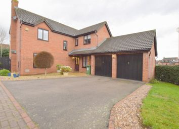 Thumbnail 4 bedroom detached house for sale in Angora Close, Shenley Brook End, Milton Keynes
