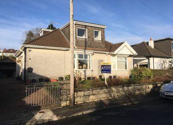 Thumbnail 4 bed detached bungalow for sale in Lon Bedwen, Sketty, Swansea