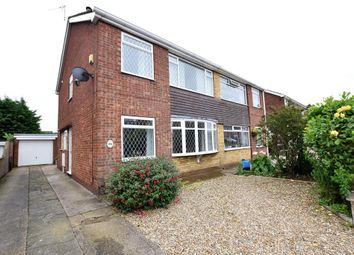 Thumbnail 3 bed semi-detached house for sale in Caistor Avenue, Scunthorpe