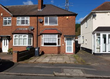 Thumbnail 2 bed semi-detached house for sale in Griffiths Road, West Bromwich