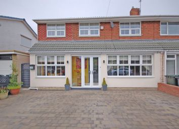 Thumbnail 4 bed semi-detached house for sale in Meadway, Forest Hall, Newcastle Upon Tyne