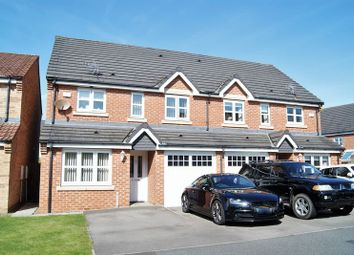 Thumbnail 3 bed semi-detached house for sale in The Brambles New Hartley, Whitley Bay