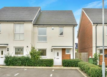 Thumbnail 3 bed semi-detached house for sale in Grove Corner, Redhouse Park, Milton Keynes, Bucks