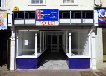 Retail premises for sale in St. Mary Street, Weymouth DT4