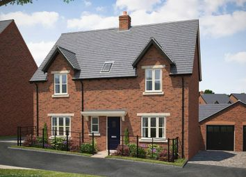 """Thumbnail 4 bedroom detached house for sale in """"The Gloucester With Garden Room"""" at Lutterworth Road, Rugby"""
