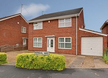 Thumbnail 4 bed detached house for sale in Kendal Way, Hull