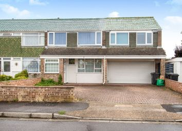 Thumbnail 4 bed end terrace house to rent in Wycote Road, Gosport