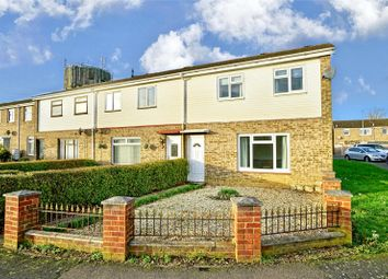 Thumbnail 3 bed end terrace house for sale in Monarch Road, Eaton Socon, St. Neots, Cambridgeshire