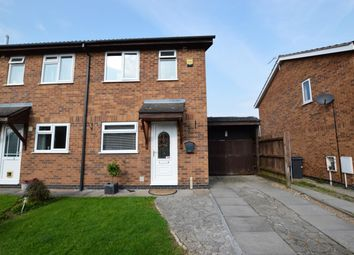 Thumbnail 2 bed semi-detached house for sale in Bushnell Close, Broughton Astley, Leicester