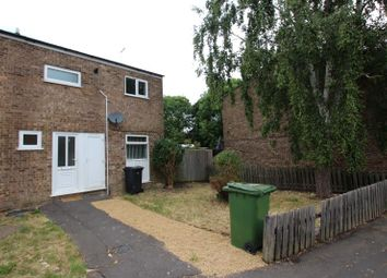 Thumbnail 3 bed end terrace house to rent in Watergall, Bretton, Peterborough
