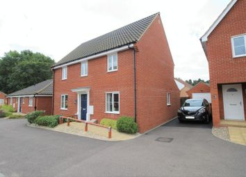 Thumbnail 4 bed detached house for sale in Foxhouse Road, Queens Hill, Costessey