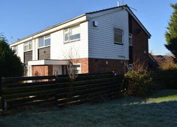Thumbnail 2 bed maisonette for sale in Okehampton Avenue, Evington, Leicester