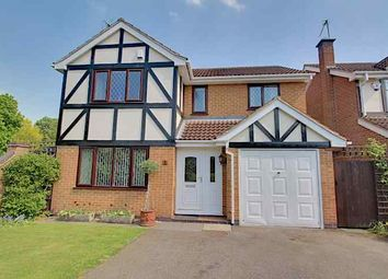 Thumbnail 4 bed detached house for sale in Coopers Close, Borrowash, Derby