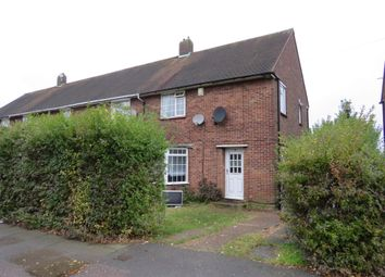 Thumbnail 3 bedroom end terrace house for sale in Long Croft Road, Luton