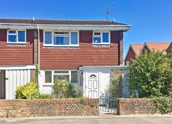 Thumbnail 3 bed end terrace house for sale in Alicia Avenue, Ashington, West Sussex