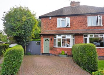 Thumbnail 2 bed semi-detached house for sale in Florence Crescent, Nottingham