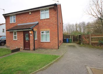 Thumbnail 2 bed semi-detached house for sale in Kinross Close, Fearnhead, Warrington
