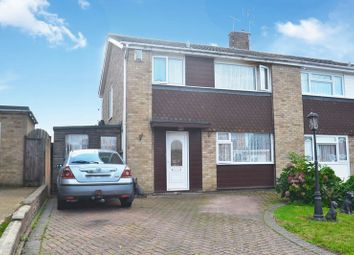 Thumbnail 3 bed semi-detached house for sale in Fleetwood Close, Minster On Sea, Sheerness
