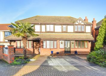 Thumbnail 5 bed detached house for sale in Coppard Gardens, Chessington