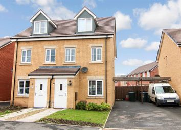 Thumbnail 3 bed semi-detached house for sale in David Wood Drive, Coventry