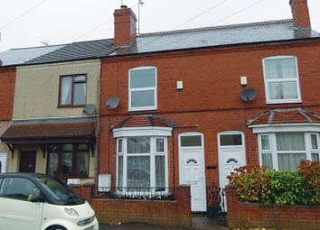 Thumbnail 3 bed terraced house for sale in St. Johns Road, Cannock, Staffordshire