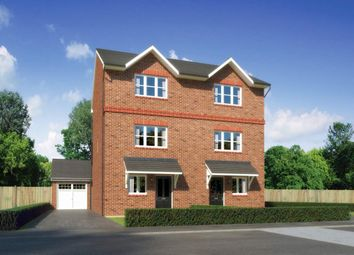 "Thumbnail 4 bed town house for sale in ""Buttermere"" at Scotchbarn Lane, Whiston, Prescot"
