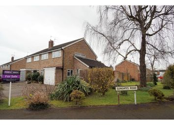 Thumbnail 3 bed semi-detached house for sale in Jolyffe Park Road, Stratford-Upon-Avon