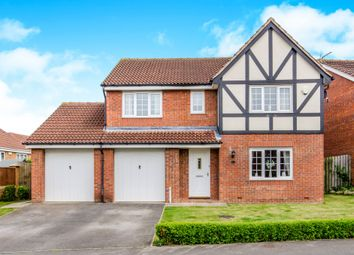 Thumbnail 4 bed detached house for sale in Dunniwood Drive, Castleford
