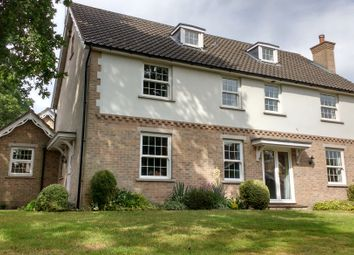 Thumbnail 5 bed detached house to rent in Thedwastre Road, Thurston, Bury St. Edmunds