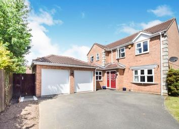 Thumbnail 4 bed detached house for sale in Juno Close, Glenfield, Leicester, Leicestershire
