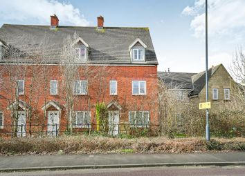 Thumbnail 3 bed end terrace house for sale in Rigel Close, Swindon