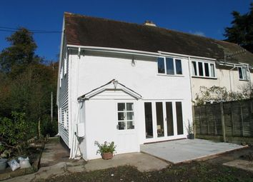 Thumbnail 2 bed cottage to rent in Morebath, Tiverton