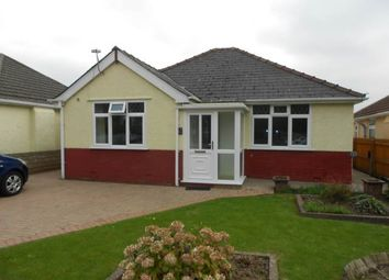 Thumbnail 4 bedroom bungalow to rent in Oakfield Road, Oakfield, Cwmbran