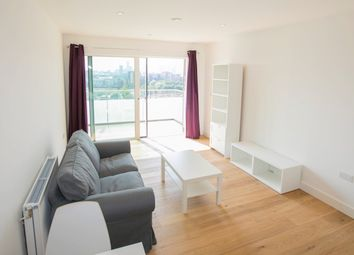 Thumbnail 1 bed flat to rent in Peartree Way, Greenwich, London