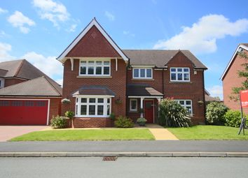 Thumbnail 4 bed detached house for sale in Burghfield Drive, Buckshaw Village, Chorley