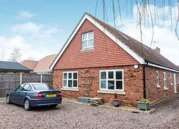 Thumbnail 4 bedroom detached house for sale in Vicarage Lane, Helpringham, Sleaford