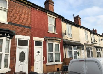 Thumbnail 3 bed terraced house to rent in Hart Road, Wednesfield, Wolverhampton