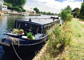 Thumbnail 1 bed houseboat for sale in Harts Boat Yard, Portsmouth Road, Surbiton