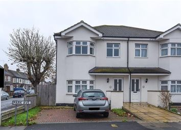 Thumbnail 3 bed flat for sale in Park Avenue, Mitcham, Surrey