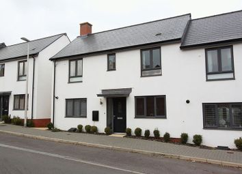 Thumbnail 3 bedroom semi-detached house to rent in Milbury Farm Meadow, Exminster, Exeter