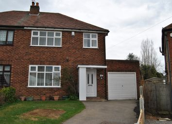 Thumbnail 3 bed semi-detached house to rent in Newborough Grove, Hall Green, Birmingham