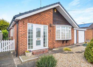 Thumbnail 3 bed detached bungalow for sale in Field Close, Worksop