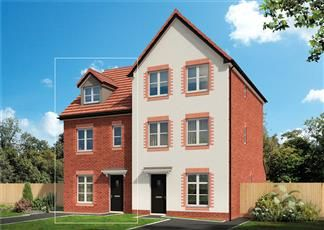 Thumbnail 1 bed semi-detached house for sale in Swanlow Lane, Winsford