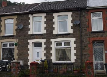 Thumbnail 4 bed terraced house for sale in Aberdare Road, Abercynon, Mountain Ash