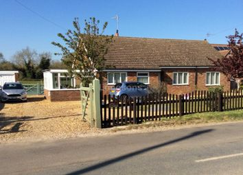 Thumbnail 4 bed detached bungalow for sale in The Street, Marham, King's Lynn