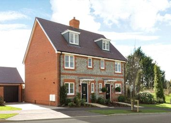 Thumbnail 3 bed terraced house for sale in Cresswell Park, Roundstone Lane, Angmering, West Sussex