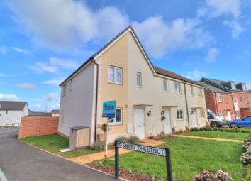 Thumbnail 2 bed end terrace house for sale in Sweet Chestnut, Cranbrook, Exeter