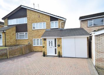 Thumbnail 3 bed semi-detached house for sale in Ketton Close, Luton