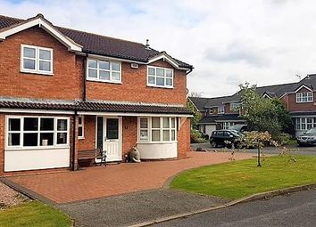 Thumbnail 5 bed detached house for sale in Hartley Close, Higher Kinnerton, Chester