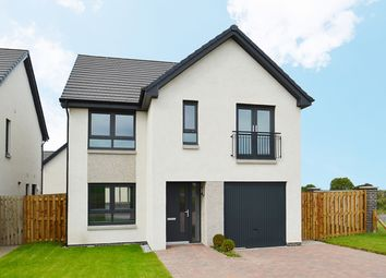Thumbnail 4 bed detached house for sale in Milligan Drive, Edinbrugh